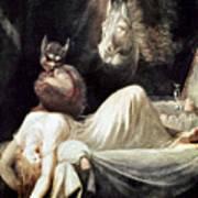 Fuseli: Nightmare, 1781 Poster