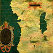 Gabon, Angola And Congo Poster