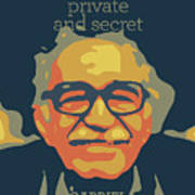 Gabriel Garcia Marquez Poster