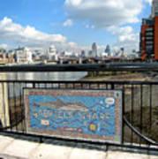 Gabriel's Wharf Poster