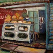 Gajak Sweet Shop Orchha Poster