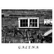 Galena Antiques Poster