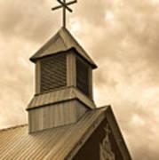 Galisteo Church, New Mexico Poster