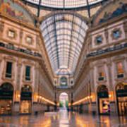 Galleria Milan Italy II Poster