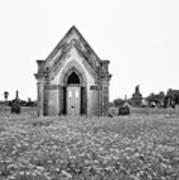 Galveston Old City Cemetery Poster