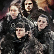 Game Of Thrones.the Last Of Stark. Poster
