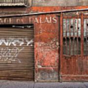 Garage Du Palais Poster