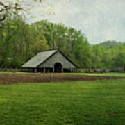 Garden And Barn Poster