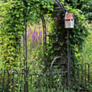 Garden Entrance Poster