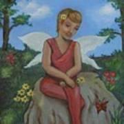Garden Fairy Poster
