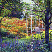 Garden For Dreaming Poster by David Lloyd Glover