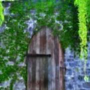 Garden Gate At The Highlands Poster