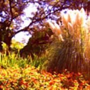 Garden Landscape Poster