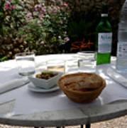 Garden Lunch Mallorca Poster