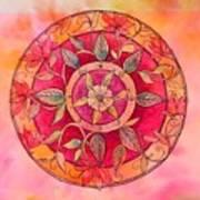 Garden Mandala Poster