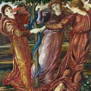 Garden Of The Hesperides Poster by Sir Edward Burne Jones
