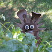 Garden Peek-a-boo Poster