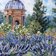 Garden Profusion - Lavendar Poster