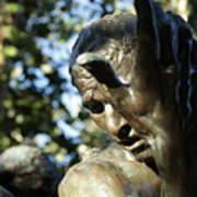 Garden Sculpture Poster