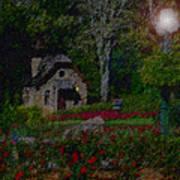 Garden Sleeping Poster