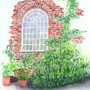 Garden Wall Poster