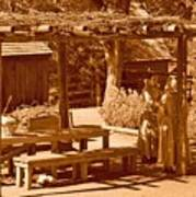 Gardiner Cabin - Circa 1800's Poster
