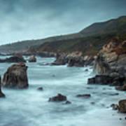 Garrapata Beach, Big Sur, California Poster