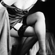 Garters And Stockings Poster
