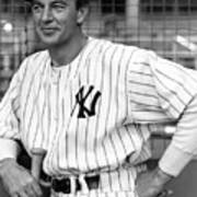 Gary Cooper As Lou Gehrig In Pride Of The Yankees 1942 Poster