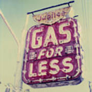 Gas For Less Poster