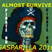 Gasparilla 2016 T Shirt Poster