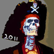 Gasparilla Pirate Fest Poster Poster by David Lee Thompson
