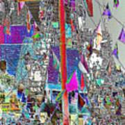 Gasparilla Pirates Invade Tampa Poster by Carol Groenen