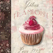 Gateau Framboise Patisserie Poster