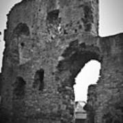 Gatehouse At Nenagh Castle Ireland Poster