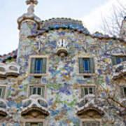 Gaudi Architecture  Poster