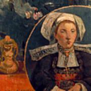 Gaugin: Belle Angele, 1889 Poster