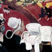 Gaugin: Vision, 1888 Poster