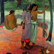 Gauguin: Call, 1902 Poster