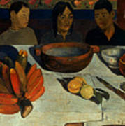 Gauguin: Meal, 1891 Poster