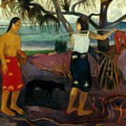 Gauguin: Pandanus, 1891 Poster