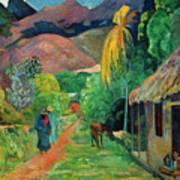 Gauguin Tahiti 19th Century Poster