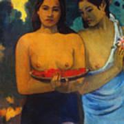 Gauguin: Two Women, 1899 Poster by Granger