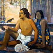 Gauguin:tahiti Women Poster