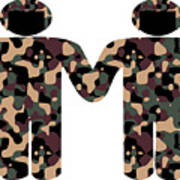 Gays In The Military Poster