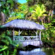Gazebo In Paradise Poster