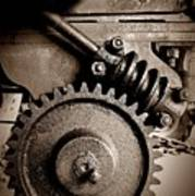 Gear In Sepia Poster