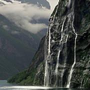 Geiranger Fjord, Norway Poster