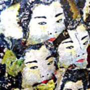 Geisha Girls Poster