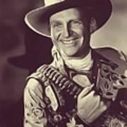 Gene Autry, Vintage Actor/singer Poster